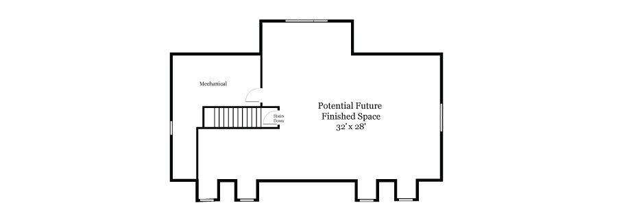 Plan View of the Upper Floor