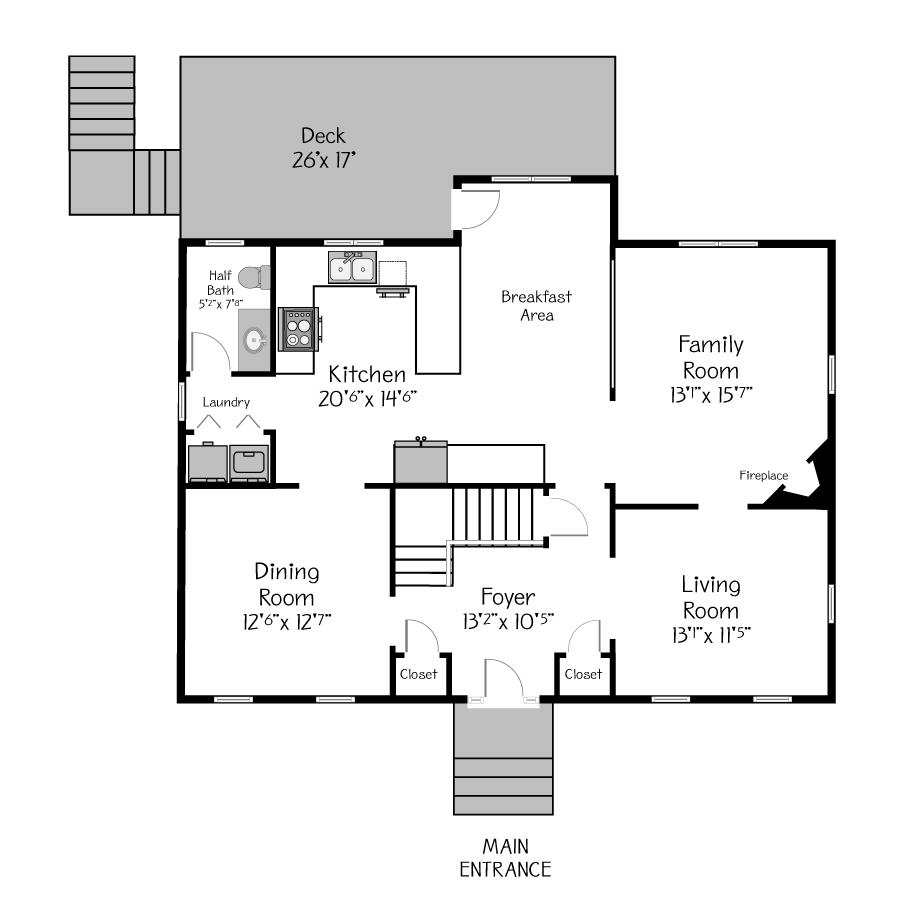 Yourplans Floor Plan Visuals Real Estate Virtual Tours Interactive Floor Plans